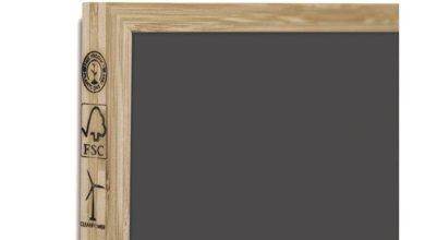 Photo of Køb ny kridttavle til klasseværelset her